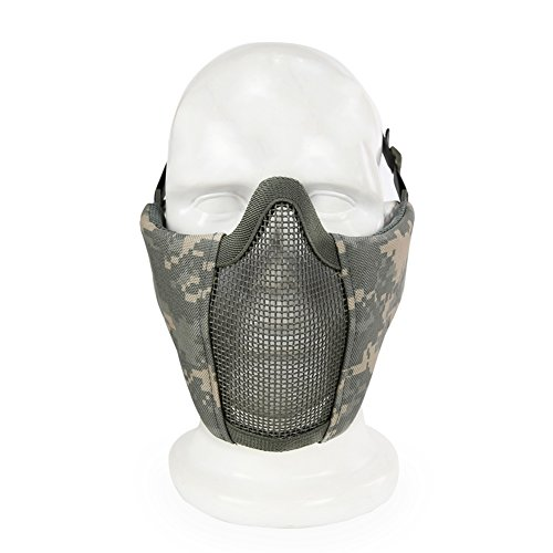 Aoutacc Airsoft Mask 4 Aoutacc Airsoft Mesh Mask