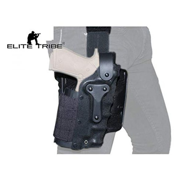Elite Tribe  6 Elite Tribe Army Military Gun Holster Airsoft SWAT Shooting Holster Combat Tactical Modle Waist Leg Holster