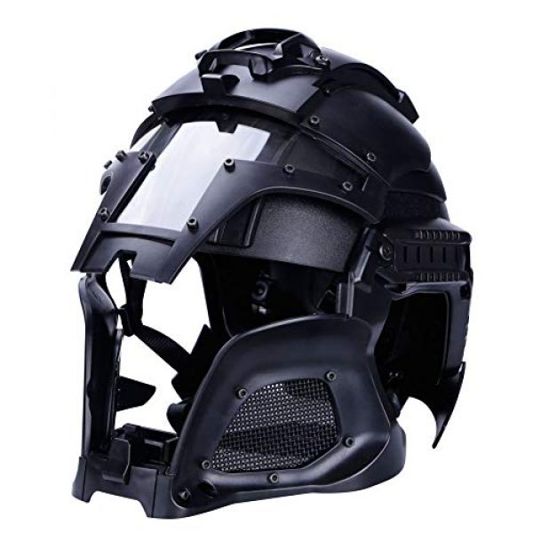 Unknown Airsoft Helmet 2 Tactical Military Airsoft Paintball PC Lens Tactical Helmet