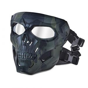Adjustable Outdoor Field Mask Full Face Cosplay