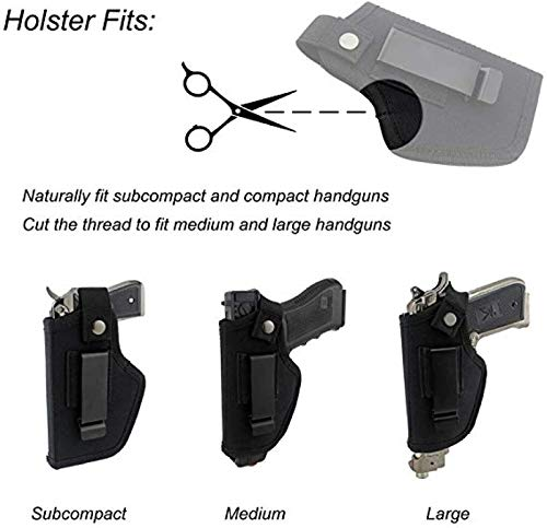 PRO TACTICAL  3 PRO TACTICAL Gun Holster Concealed Carry IWB OWB Glock 17 19 20 21 22 23 26 27 30 31