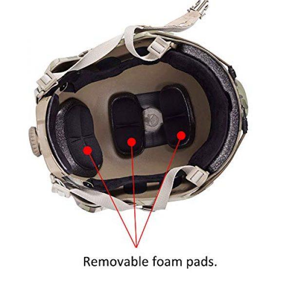 EMERSONGEAR Airsoft Helmet 2 EMERSONGEAR Tactical Adjustable Fast Helmet