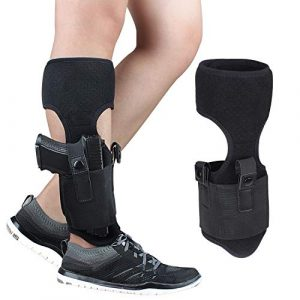 Phrmovs  1 Phrmovs Ankle Holster for Concealed Carry Universal Leg Carry Pistols with Magazine Pocket for Glock 19 26 36 42 43