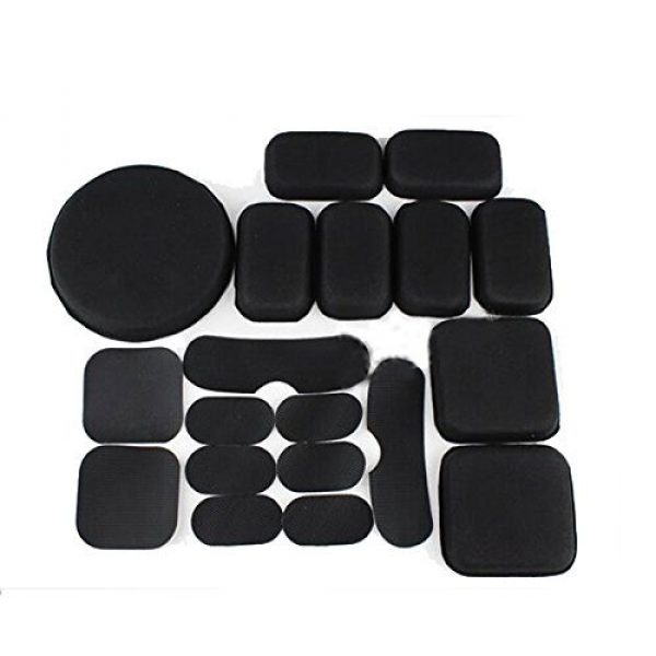 ATAIRSOFT Airsoft Helmet 1 ATAIRSOFT Tactical Airsoft Helmet Accessories 9 Inner Pads Set for ACH MICH Helmet
