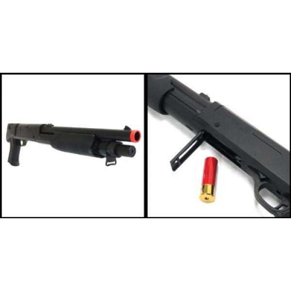 CSI Cannon Sports  2 spring csi multi-shot m56b pump action shotgun fps-320 airsoft gun(Airsoft Gun)