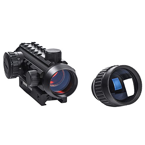 Beileshi Airsoft Gun Sight 4 Beileshi 1X/2X Red Illuminated Tactical Dot Sight