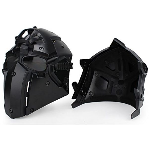Unknown Airsoft Helmet 2 Tactical Airsoft Full Face Protection