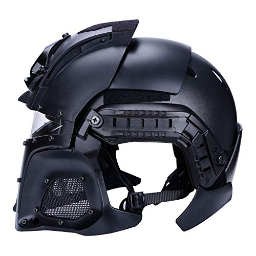 Airsoft Paintball Full Face Mask Helmet