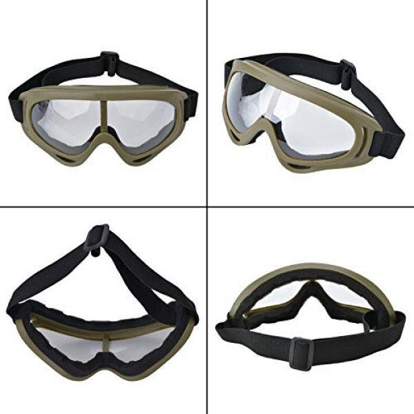 Lower Steel Mesh Mask Protective Half Face Mask UV Protection Glasses Comfortable and Cool Mask Goggles Set for Adult Men Women Children