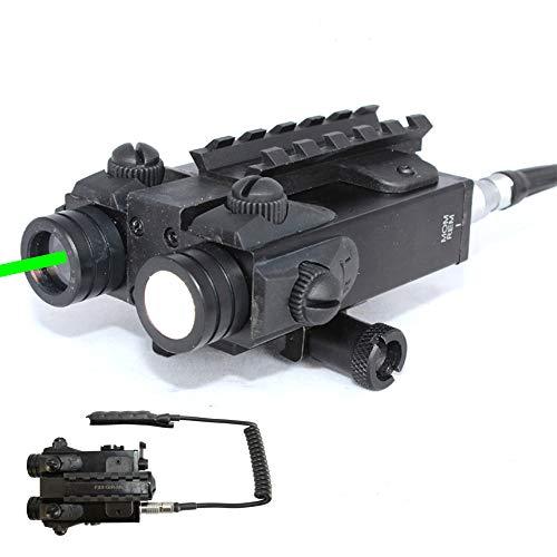 Sniper Airsoft Gun Sight 2 Sniper FL2000 Green Laser Sight LED Flashlight Combo