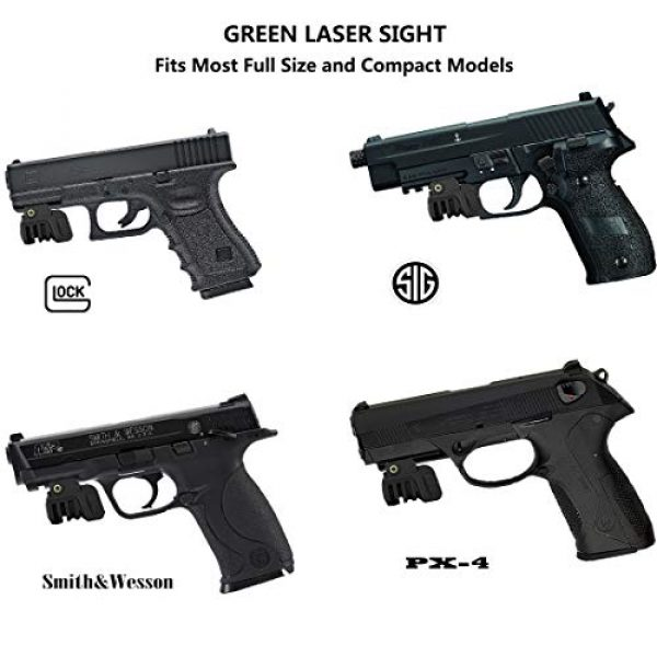 JDAMALEYWO Airsoft Gun Sight 7 JDAMALEYWO Tactical Laser Sight for Pistol Rifle Handguns