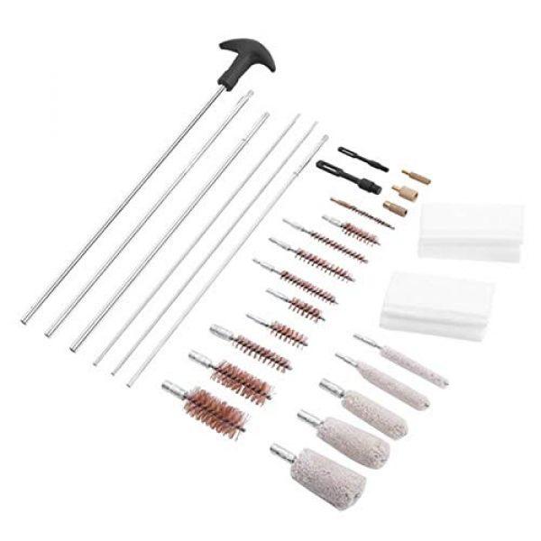 SHUTAO  5 128pcs Outdoor Shotguns Barrel Cleaning Kit Silver