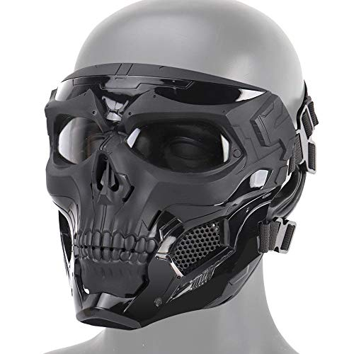 Dumcuw Airsoft Mask 1 Dumcuw Halloween Skeleton Airsoft Mask