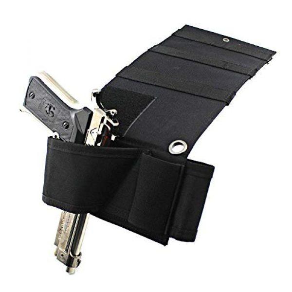 Mattress Gun Holster Universal with Flashlight Loop