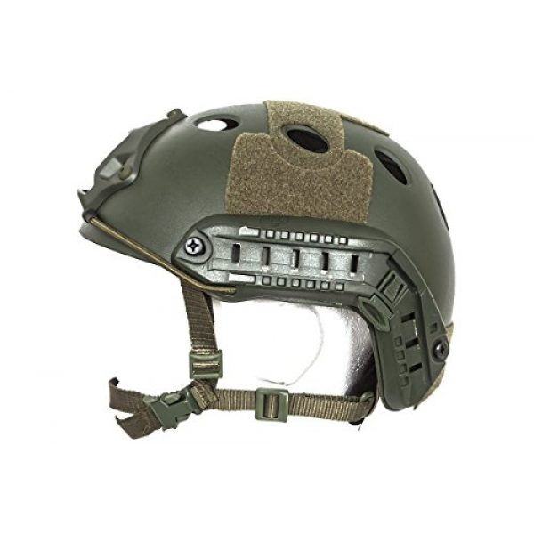 Bravo! Airsoft Helmet 3 Bravo! PJ Helmet Version 3 in (OD Green)