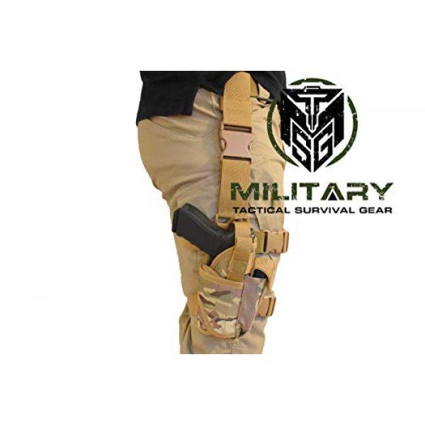 Right Handed Tactical Thigh Pistol Gun Holster Leg Harness
