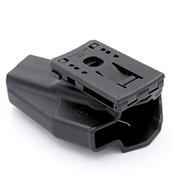 Polymer Open Type Belt Loop Attachment for Gun Holsters