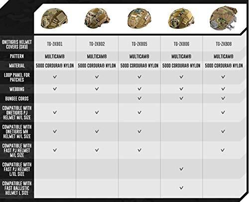 OneTigris Airsoft Helmet 2 OneTigris Multicam Helmet Cover - No Helmet