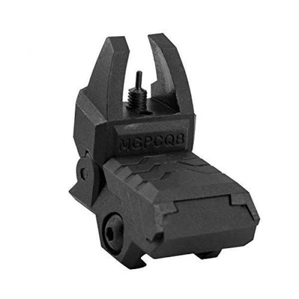 GVN Airsoft Gun Sight 3 GVN Flip up Battle Iron Sights Front and Rear Sights For Picatinny Rail