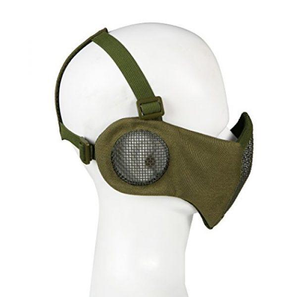 Aoutacc Airsoft Mask 2 Aoutacc Airsoft Mesh Mask