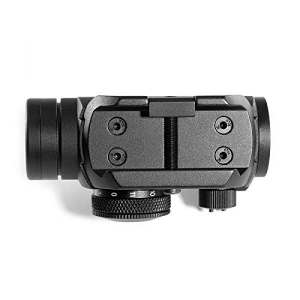 Pinty Airsoft Gun Sight 5 Pinty Pro 1x22mm 3 MOA Red Dot Reflex Sight with Anti-Reflection Devices