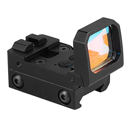 ARWIN Airsoft Gun Sight 5 Flip Red Dot Sight RMR Holographic Reflex Sight for Shooting Hunting for Glock or 20mm Picatinny (Black)