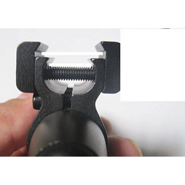 MAYMOC Airsoft Gun Sight 4 MAYMOC Green Laser Dot Sight Military Tactical Hungting Green Laser Scope with Ajustable Bracket 11MM 20MM