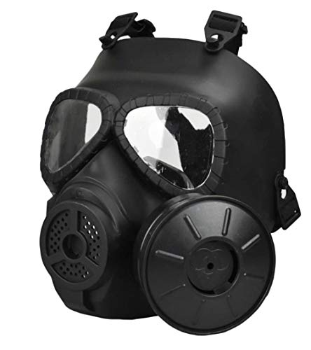 JFFCESTORE Airsoft Mask 2 JFFCESTORE Airsoft Tactical Protective Mask M88 Helmet Full Face Eye Protection Skull CS Mask Adjustable Strap One Size fits All Airsoft BB Gun CS Game Party
