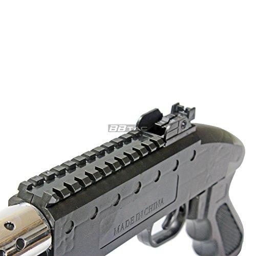 BBTac  7 bbtac airsoft shotgun pump action (starter shotgun series) - pistol grip airsoft shotgun - high bb capacity - 300 fps+ w/ 6mm 0.12g bbs with bbtac warranty & tech support(Airsoft Gun)
