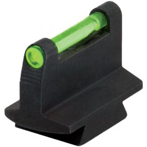 HIVIZ Airsoft Gun Sight 1 HIVIZ 3/8-Inch Dovetail Fiber Optic Rifle/Muzzleloader Sight 0.42 Height