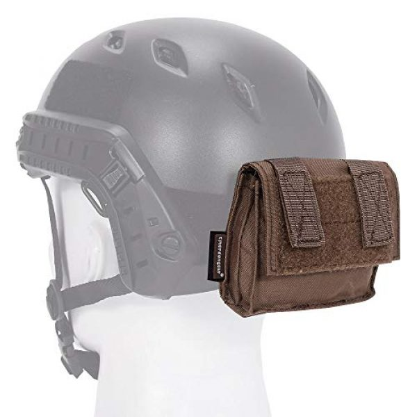 EMERSONGEAR Airsoft Helmet 1 EMERSONGEAR Molle Tactical Helmet Pouch Removable Gear Pouch