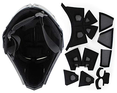 LEJUNJIE Airsoft Helmet 4 LEJUNJIE Tactical Airsoft Helmet Full Face Protection Mask Goggles Hunting Paintball Shooting Military Motorcycle Cosplay Movie Prop