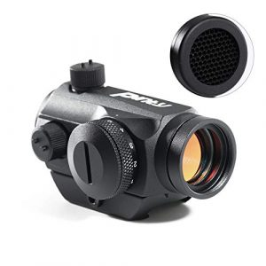 Pinty Airsoft Gun Sight 1 Pinty Pro 1x22mm 3 MOA Red Dot Reflex Sight with Anti-Reflection Devices