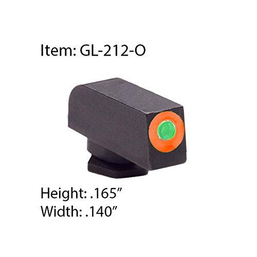 AmeriGlo Airsoft Gun Sight 1 AmeriGlo Front Pro Glo