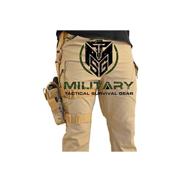 MTSG Military Tactical Survival Gear  2 Drop Leg Holster