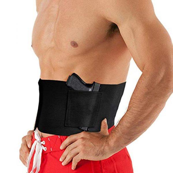Hidden Tactical Concealed Carry Pistol Gun Pouch for Men and Women