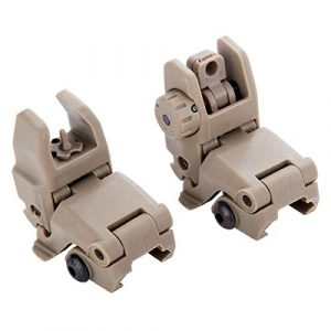 JINZE Airsoft Gun Sight 1 JINZE Front and Rear Iron Sight