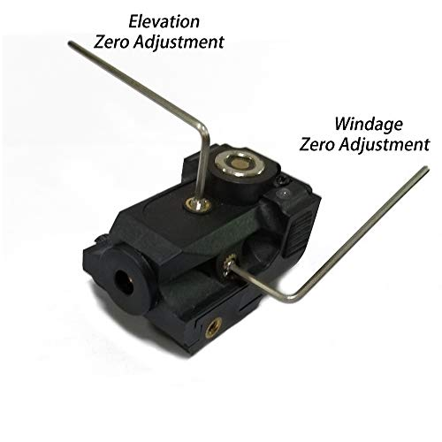 TTAS Airsoft Gun Sight 2 Tactical Green Laser Sight