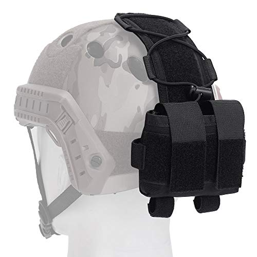 EMERSONGEAR Airsoft Helmet 1 EMERSONGEAR Molle Tactical Helmet Pouch Removable Gear Pouch Tactical Fast Helmet Accessories Utility Pouch Helmet Cover Counterweight Bag