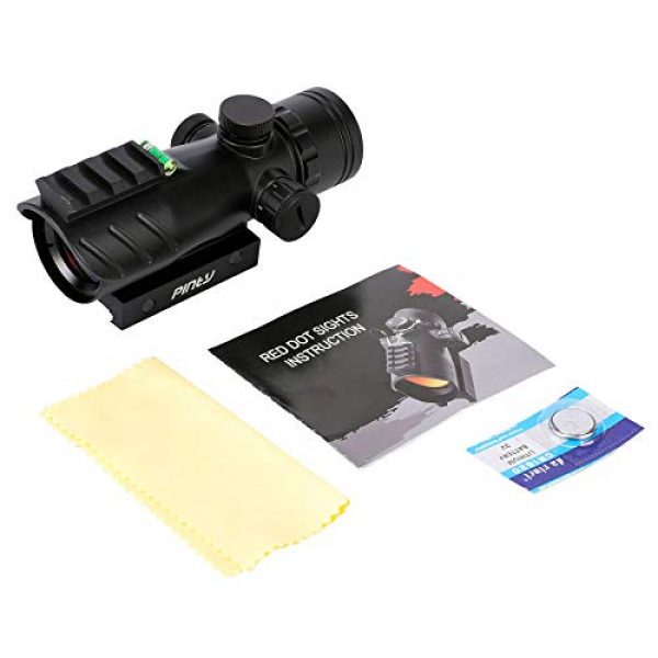 Pinty Airsoft Gun Sight 3 Pinty 1x30mm Red Dot Sight with Bubble Level