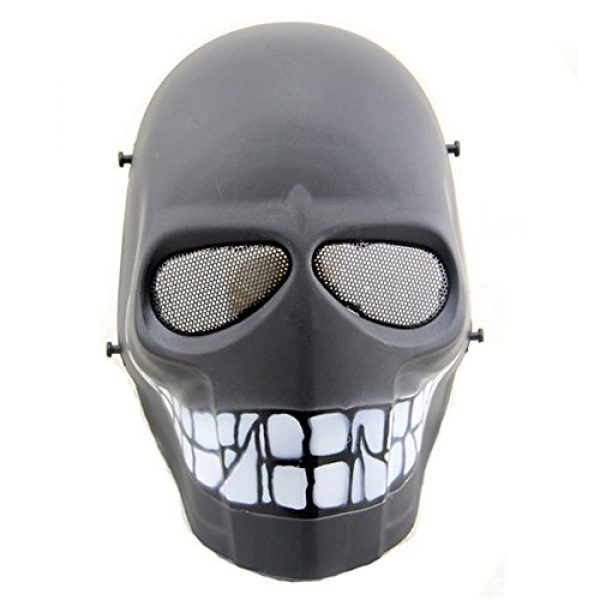 ATAIRSOFT Airsoft Mask 1 ATAIRSOFT Airsoft Mask Full Face Paintball Hockey BB Protective Mesh Mask