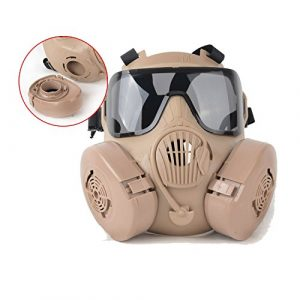 Outgeek Airsoft Mask 1 Outgeek M50 Airsoft Mask Full Face Skull CS Mask with Fan