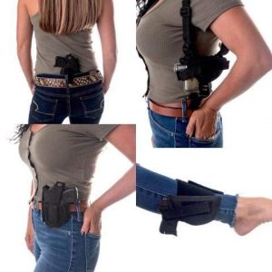 """Wyoming Holster  1 Gun Holster Buy 1 get 3 Free Shoulder/Concealed/Hip/Ankle IWB FITS Taurus TX22 .22LR TH Series Remington 1911 R1 3.5"""" BRL KAHR Baby Eagle III S/Compact 9MM 3.85"""" BRL 40 S&W 3.93"""" BRL S9 W/Laser 5"""