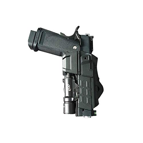 Higoo  4 Higoo Tatical Movable Pistol Holster for Colt 1911 with Flashlight or Laser Mount