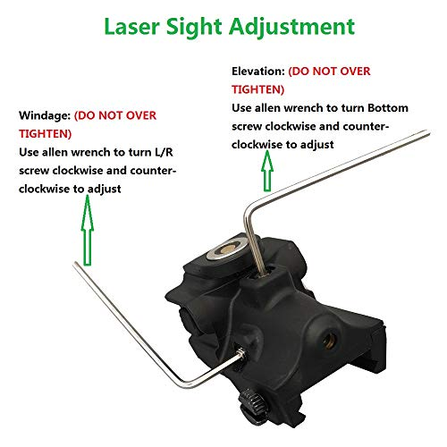 Infilight Airsoft Gun Sight 2 Infilight Green Laser Sight