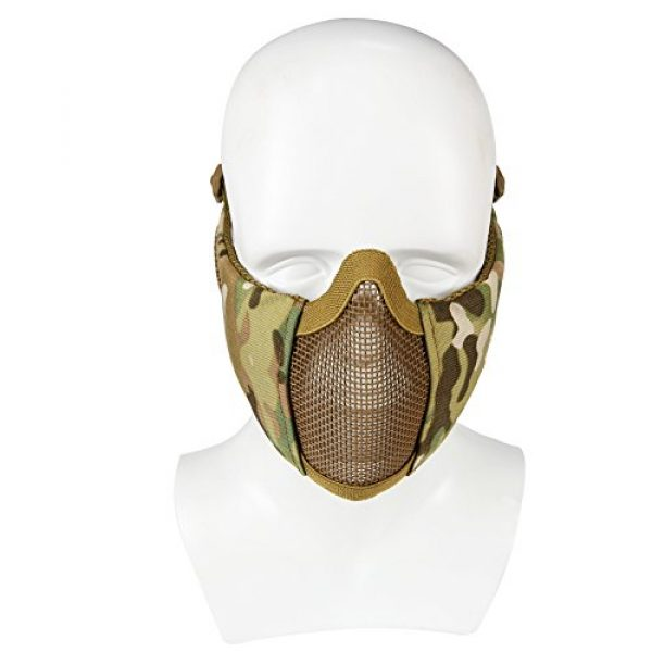 Aoutacc Airsoft Mask 4 Foldable Airsoft Mesh Mask