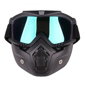 Freehawk Airsoft Mask 1 Freehawk Motorcycle Goggles Mask Detachable
