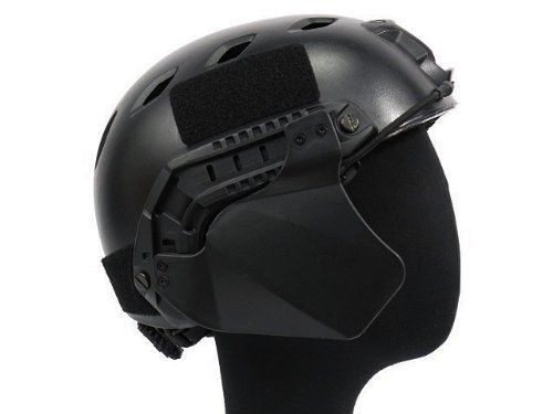 Airsoft Airsoft Helmet 1 Airsoft Up-Armor Side Cover for Fast Helmet Rail Black