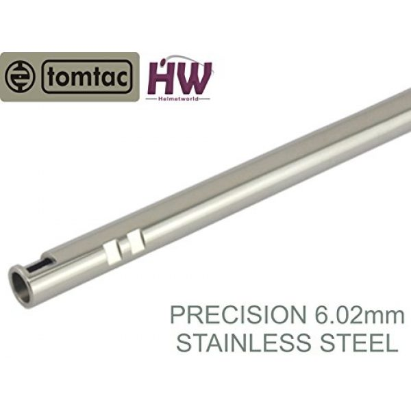 TOMTAC Airsoft Barrel 1 AIRSOFT PRECISION INNER BARREL 6.02 STAINLESS STEEL TIGHT BORE 247mm TOMTAC 6.03 HELMET WORLD