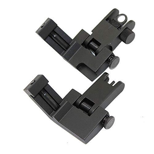 Funpower Airsoft Gun Sight 2 Funpower 45 Degree Offset Flip Up Iron Sights for Rifle